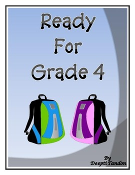 Ready for Grade 4