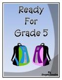 Ready for Grade 5