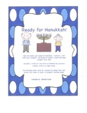 Ready for Hanukkah:  A versatile game to help with math or reading skills.