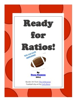 Ready for Ratios! - 6th Grade Common Core Math Tasks