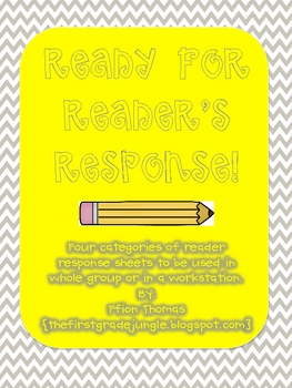 Ready for Reader's Response!