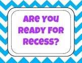 Ready for Recess Tracker