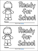 Ready for School- Emergent Reader- Kindergarten