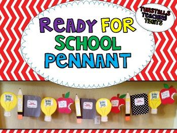 Ready for School Pennant