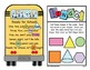 Ready for School - Poem-ingo - Bingo With a Twist of Words & Shapes