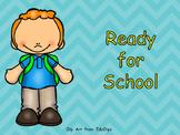 Ready for School- Shared Reading- Kindergarten