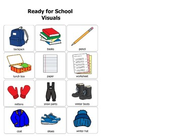 Ready for School Visuals