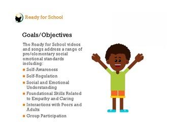 Ready for School w/ Mindfulness Video Bundle | Classroom / Behavior Management