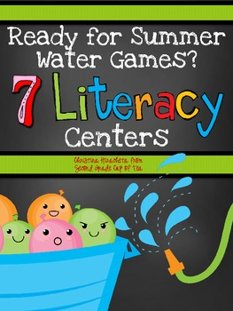 Ready for Summer Water Games? 7 Literacy Centers {Second Grade Cup of Tea}