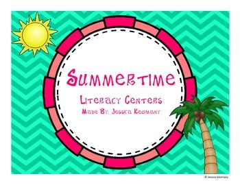 Ready for Summertime Literacy Centers