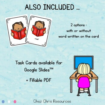 Ready for a mannequin challenge ? Action cards - instructions