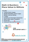 Numbers - Place Value to Millions M4 U1 - L1