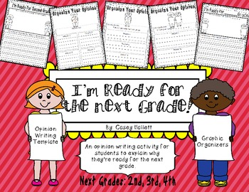 Ready for the Next Grade 2nd-4th {Opinion Writing & Graphi