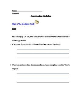 Ready gen Unit 1 Module A Lesson 6