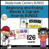Ready-made Centers: Beginning and Ending Blends and Digraph Boards BUNDLE