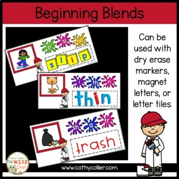 Ready-made Centers: Blends and Digraph Boards