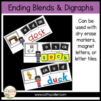 Ready-made Centers: Ending Blends and Digraph Boards