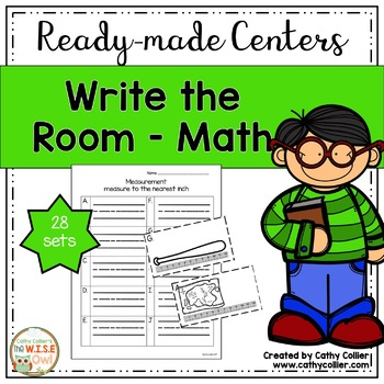 Ready-made Center Write the Room (Math)