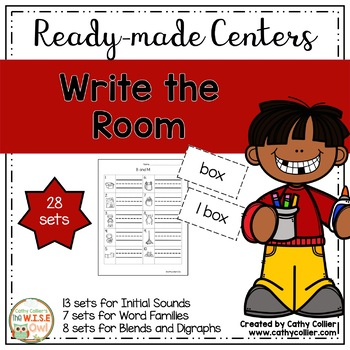 Ready-made Centers: Write the Room (Reading)