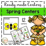 Ready-made Spring Centers for Kindergarten