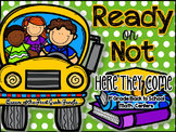 Ready or Not: Here They Come (Back to School Math Centers FIRST GRADE)