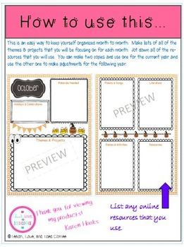 Ready or Not, Here They Come! Get Organized Month by Month!