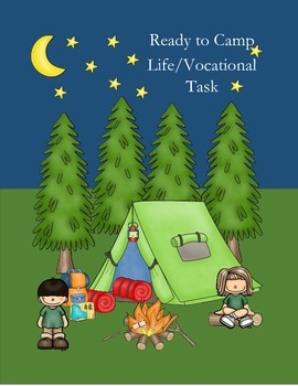 Life/Vocational Skill Ready to Camp Shopping Task