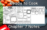 Ready to Cook (Chapter 7) Notes Plus Answers for Intro to Culinary Course