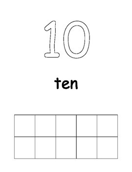 Ready-to-Customize Number Posters (1-20)
