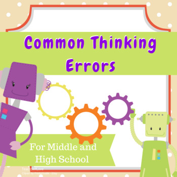 Ready-to-Cut Handouts - Common Thinking Errors