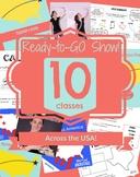 Ready-to-GO Show! Kit - Across the USA!