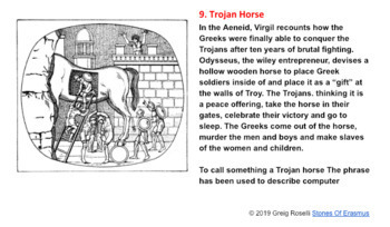 Editable Lesson and Activity: 10 Everyday Words and Phrases in Greek Mythology