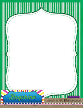 Ready to Go {Backgrounds} for Commercial Use: The Greens