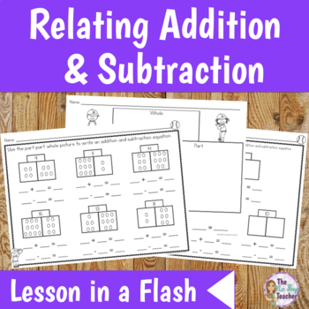 1st Grade Math Lesson - Related Facts