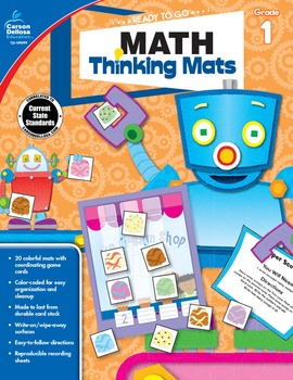 Ready to Go Math Thinking Mats Grade 1 SALE 20% OFF 104899