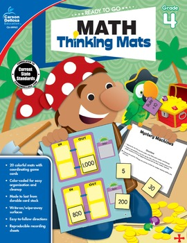 Ready to Go Math Thinking Mats Grade 4 SALE 20% OFF 104902