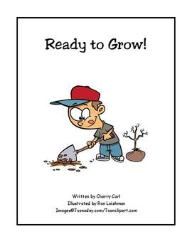 Ready to Grow Read Aloud for Shared Reading about spring