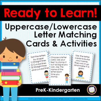 Letter Matching Uppercase and Lowercase