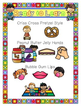 Ready to Learn-Anchor Chart