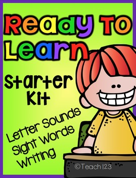 Letter sounds, Sight Words, Writing