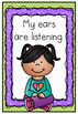 Ready to Learn Listening Charts