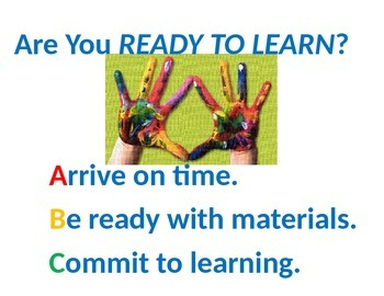 Ready to Learn Poster