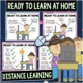 Ready to Learn at Home Visuals for Distance Learning Poste