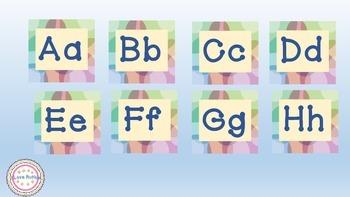 Ready to Print Alphabet Tiles
