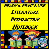 Ready to Print & Use 3rd Grade Interactive Literature Notebook
