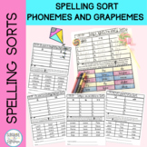Spelling Pattern Sorts Aligned with Common Core