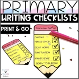 Ready to Publish Writing Checklists