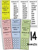 Ready to Read Booklets - Word Bank Booklets for Use with Jolly Phonics