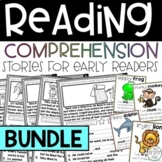 Reading Comprehension Stories Distance Learning BUNDLE