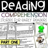 Reading Comprehension Fill-in-the-Blank & Illustration Stories SET 1